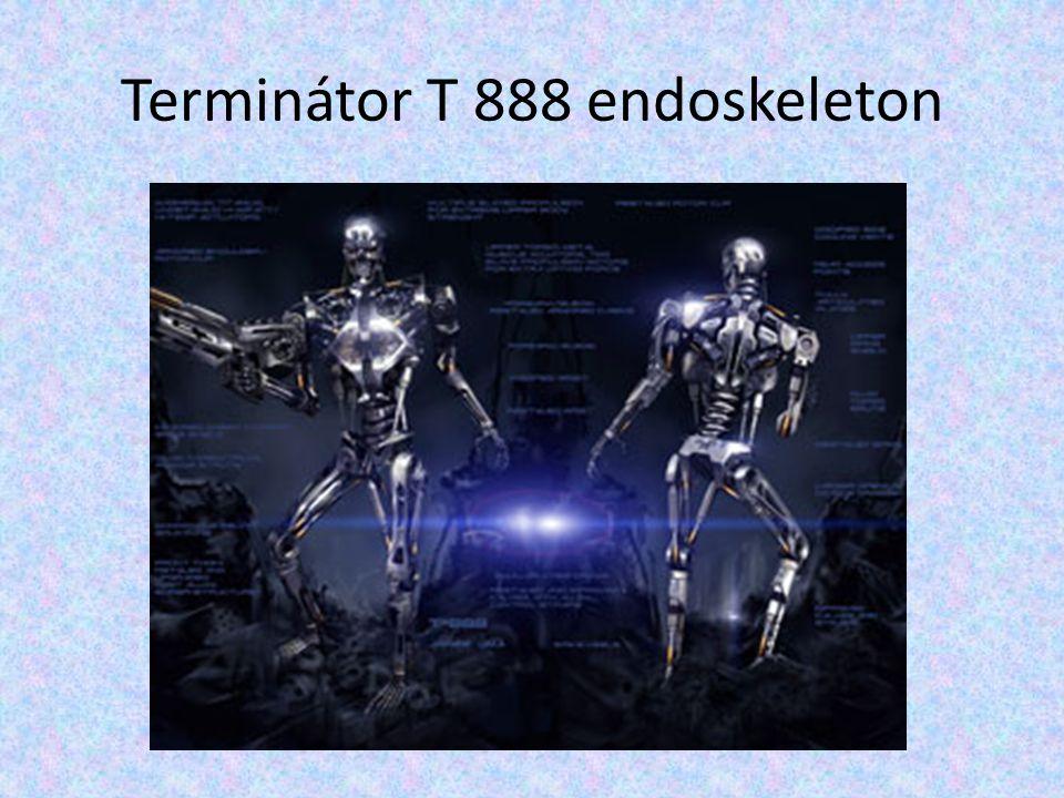 Terminátor T 888 endoskeleton