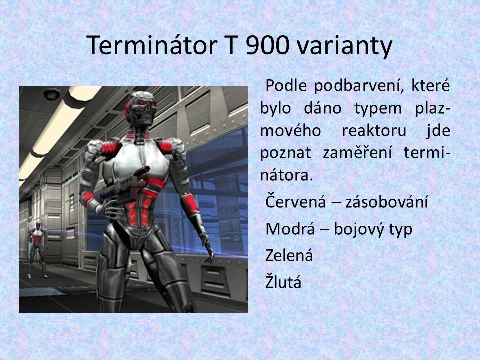 Terminátor T 900 varianty