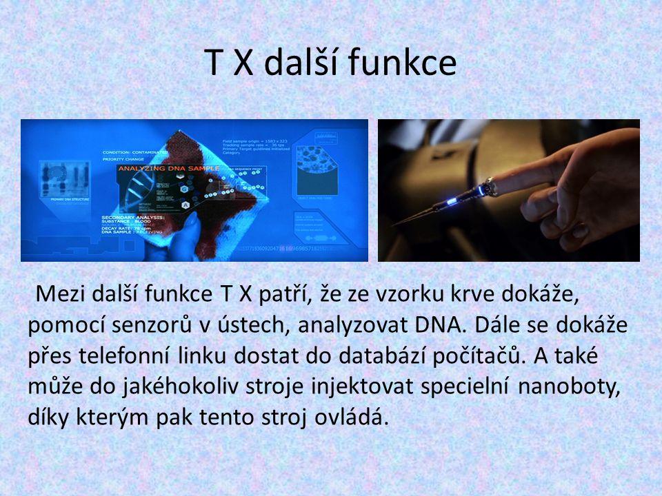 T X další funkce