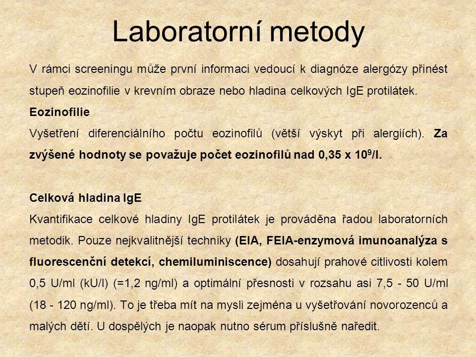 Laboratorní metody
