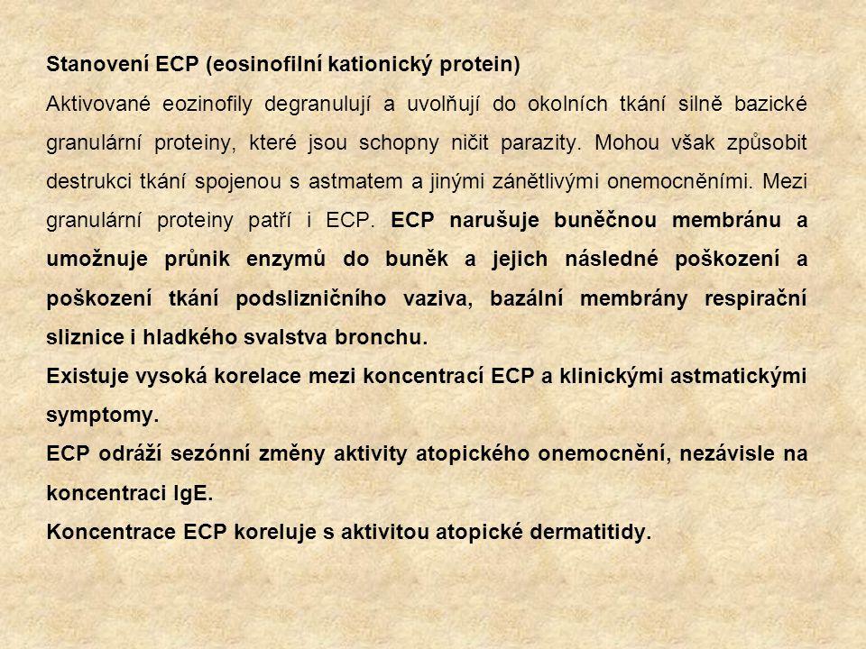 Stanovení ECP (eosinofilní kationický protein)