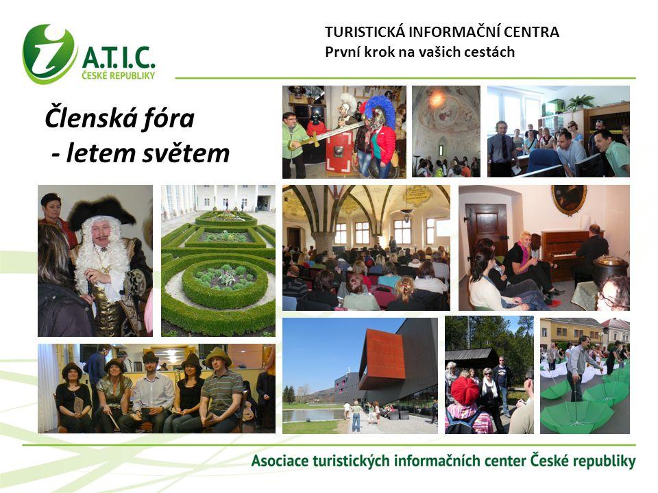 Turistická informační centra - první krok na vašich cestách