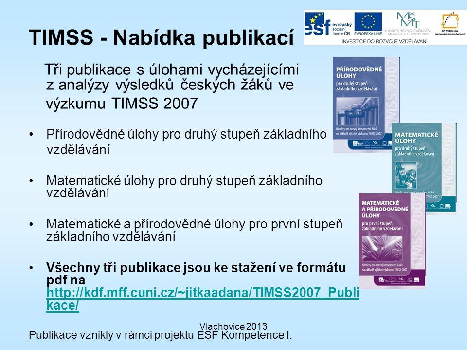 TIMSS - Nabídka publikací
