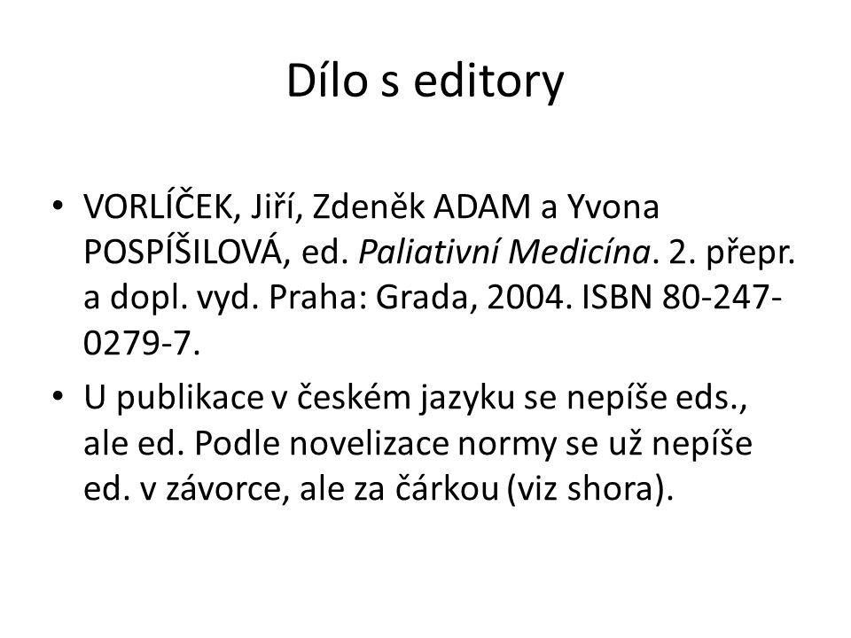 Dílo s editory