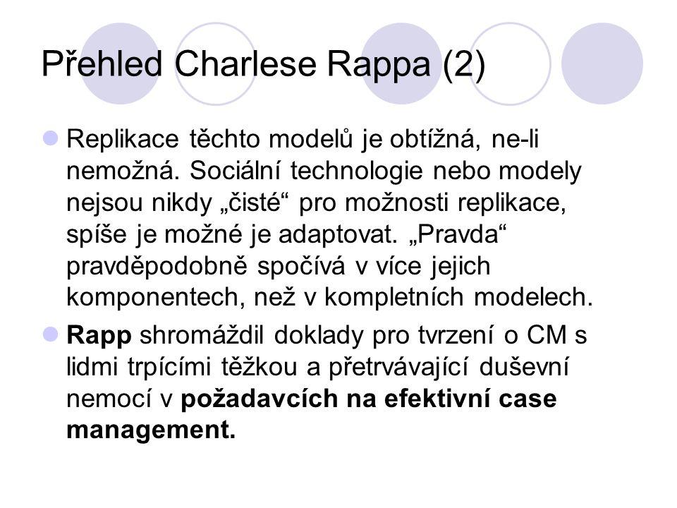 Přehled Charlese Rappa (2)