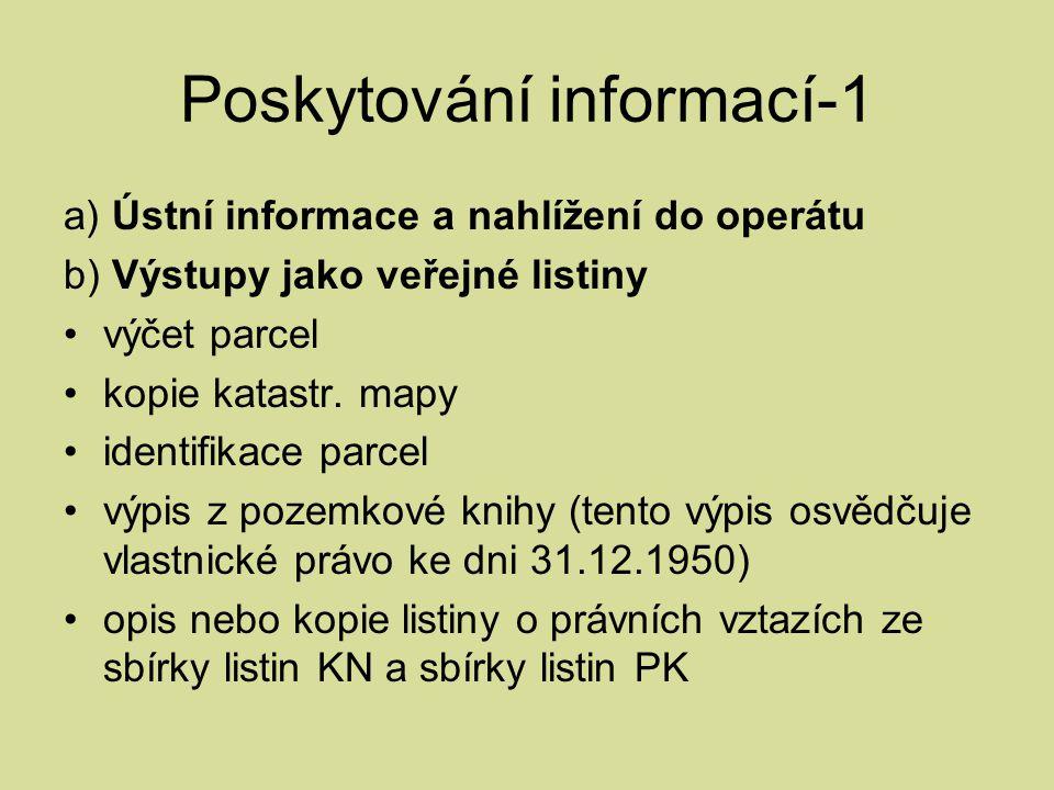 Poskytování informací-1