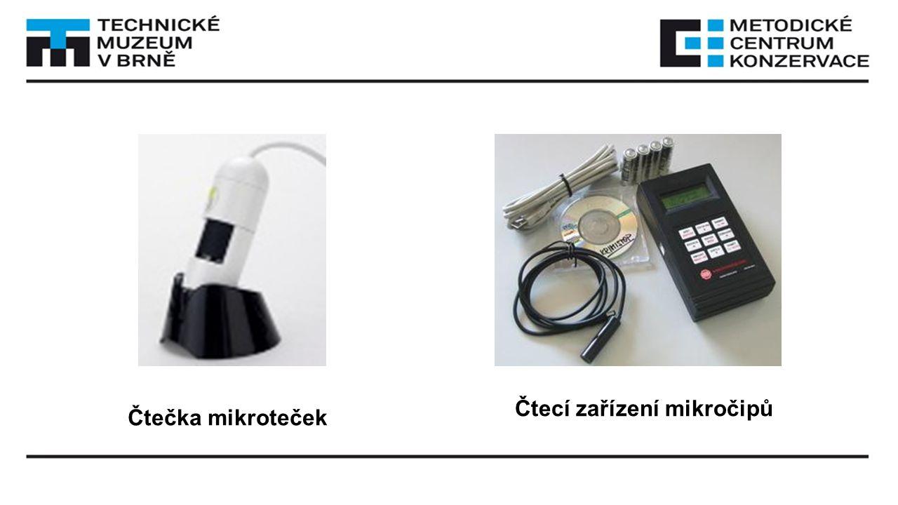 Čtecí zařízení mikročipů