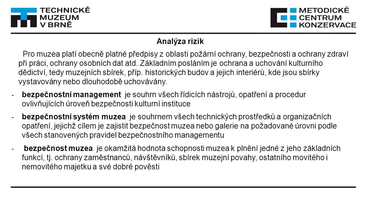 Analýza rizik