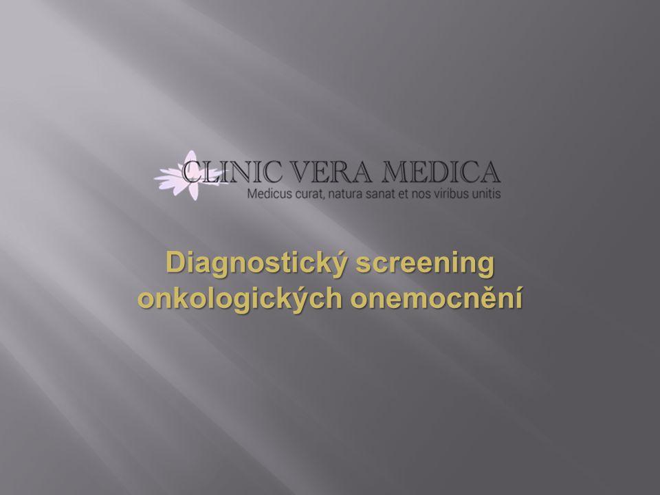 Diagnostický screening onkologických onemocnění