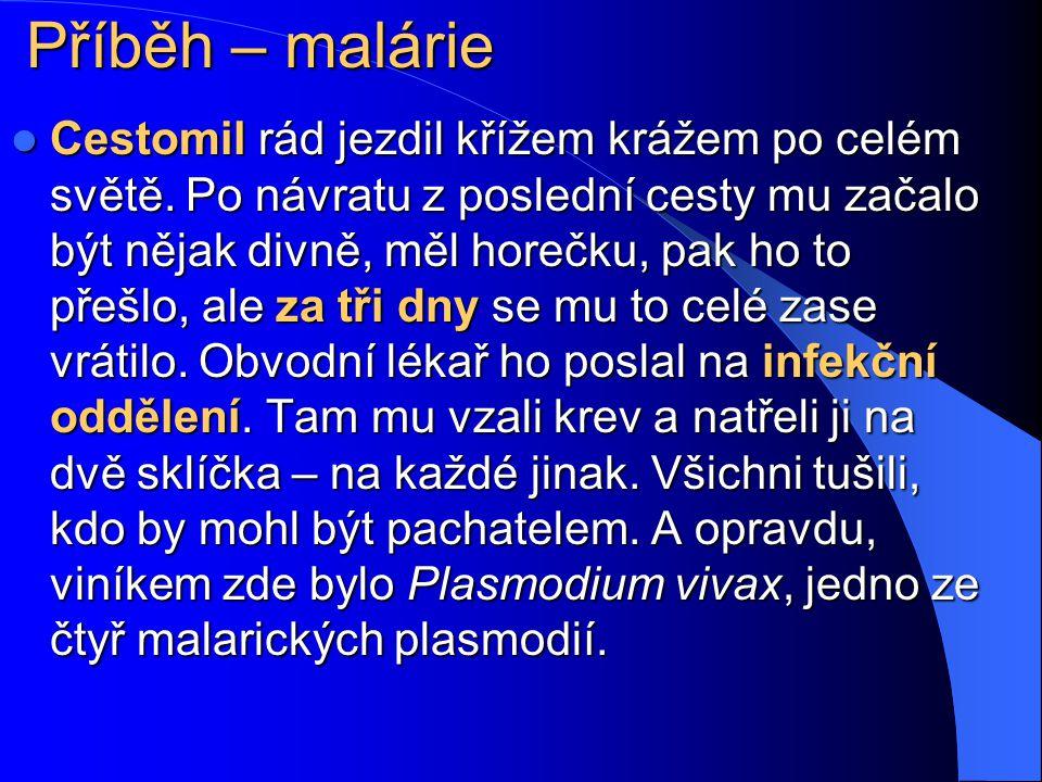 Příběh – malárie
