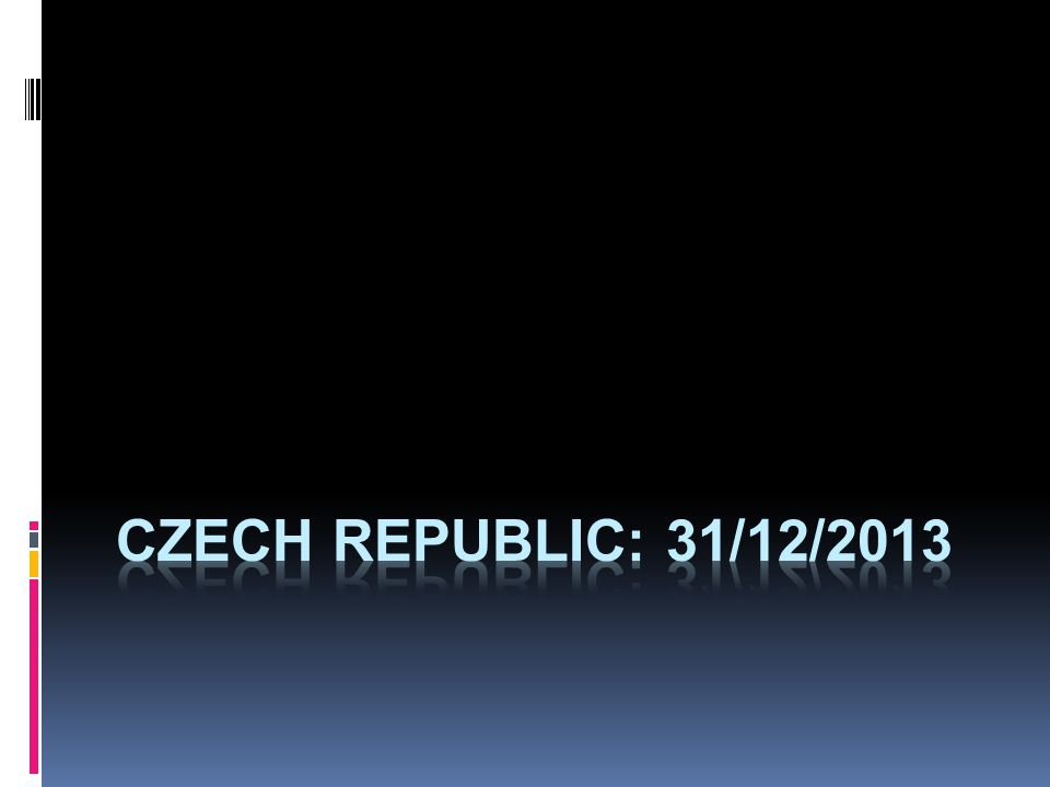 czech republic: 31/12/2013