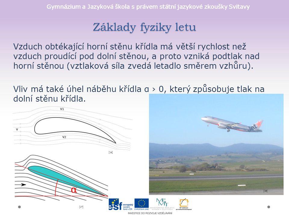 Základy fyziky letu