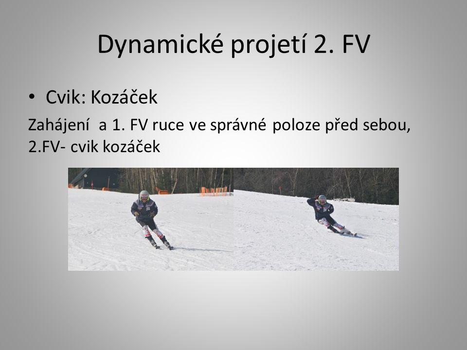 Dynamické projetí 2. FV Cvik: Kozáček