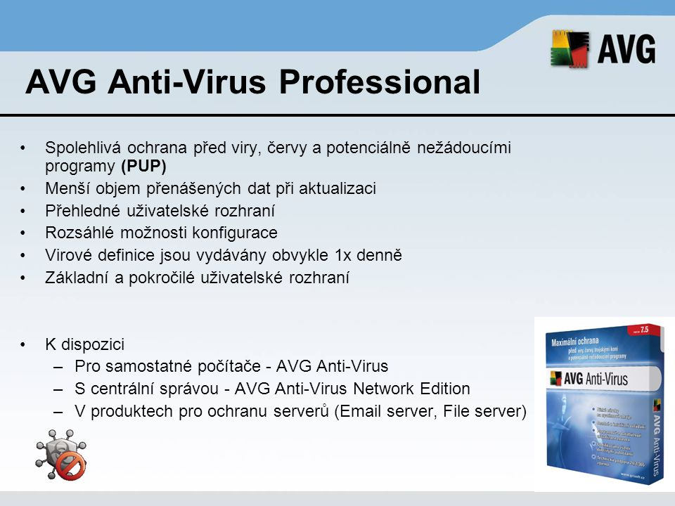 AVG Anti-Virus Professional