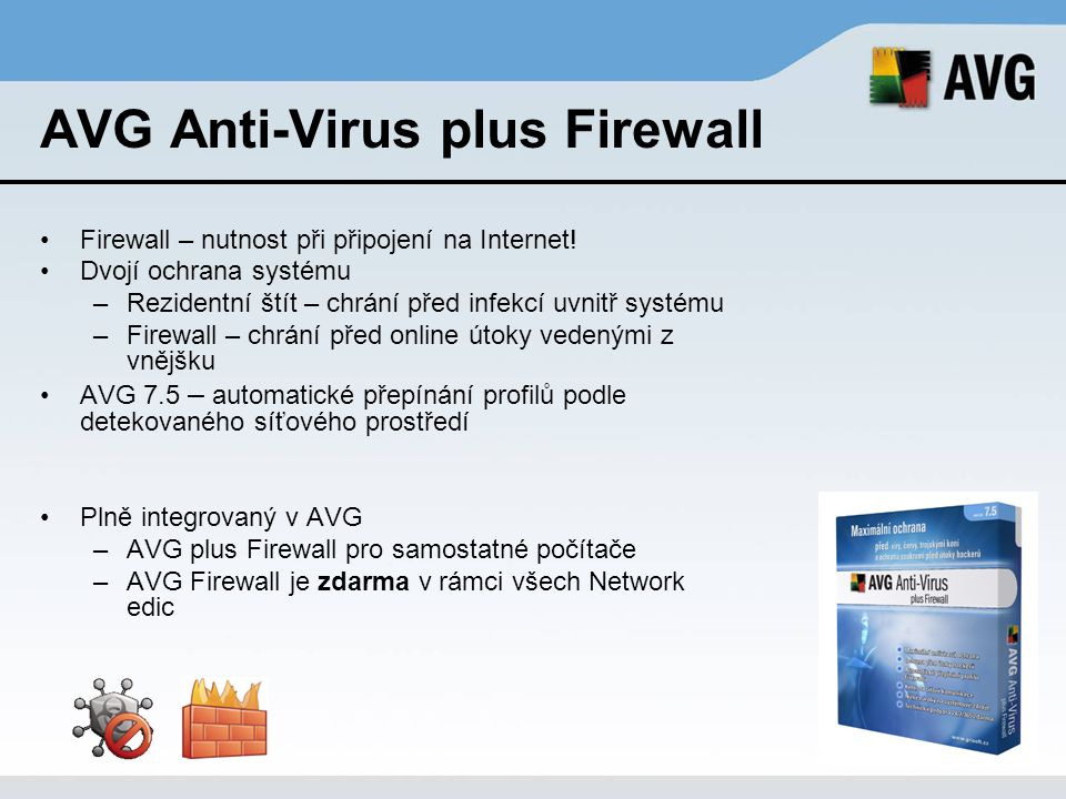AVG Anti-Virus plus Firewall