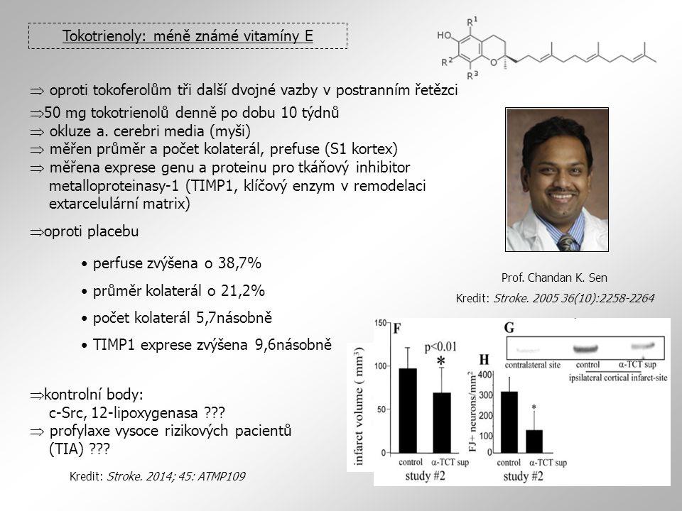 Tokotrienoly: méně známé vitamíny E