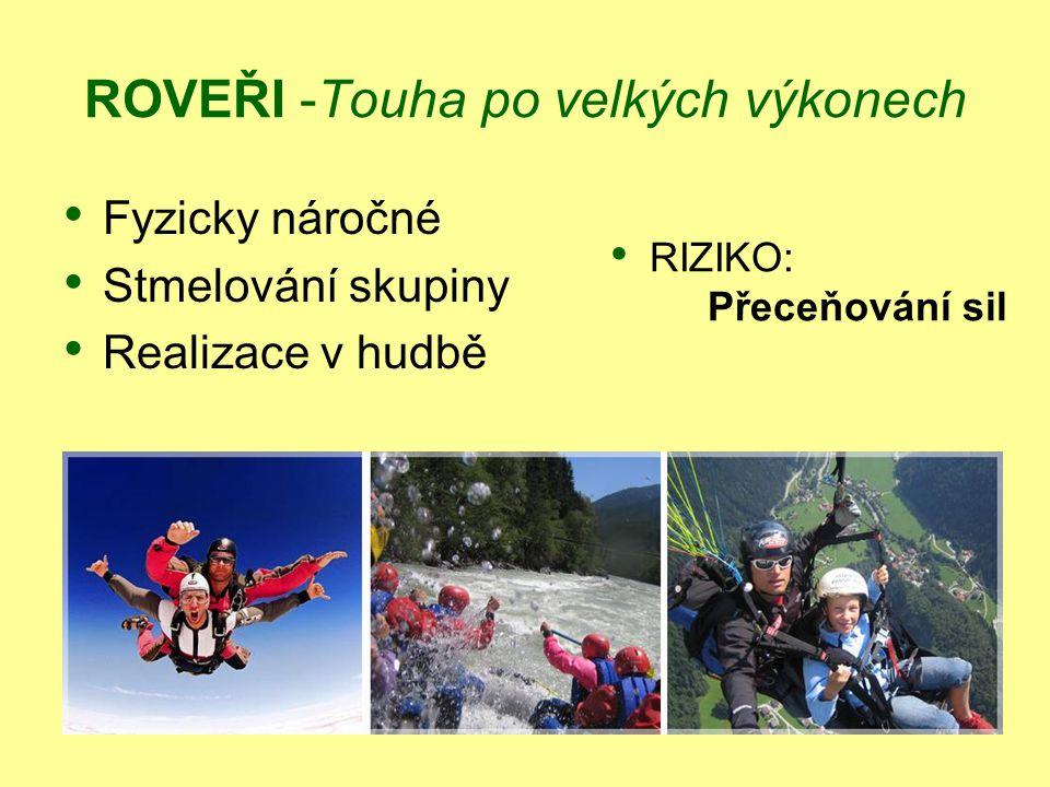 ROVEŘI -Touha po velkých výkonech