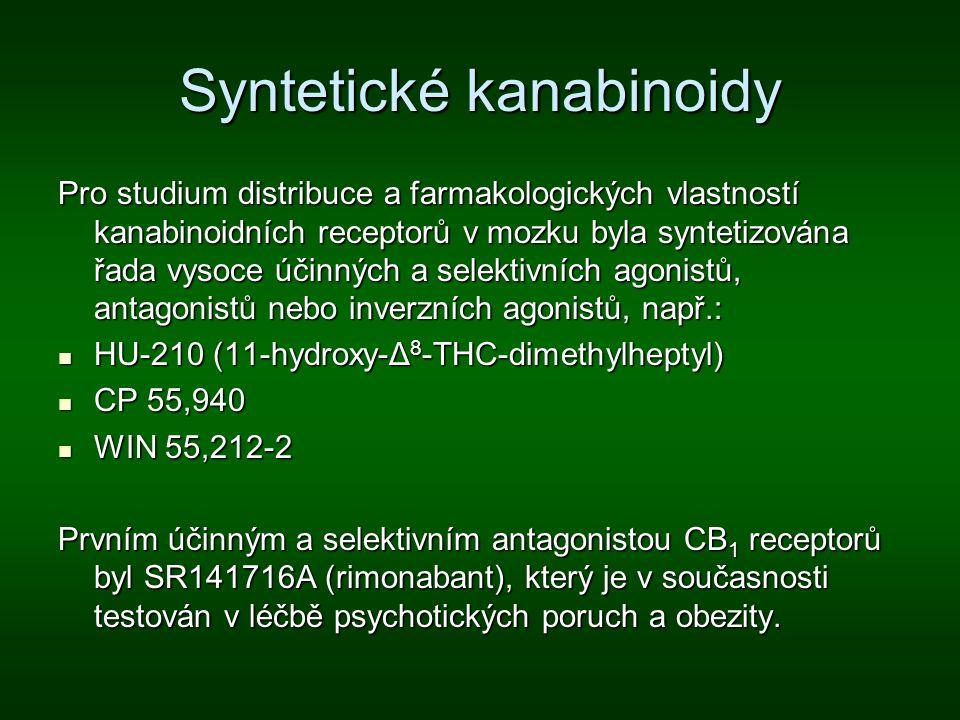 Syntetické kanabinoidy