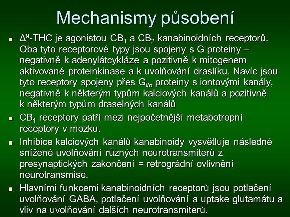 Mechanismy působení