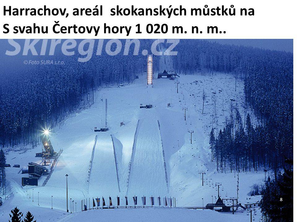 Harrachov, areál skokanských můstků na