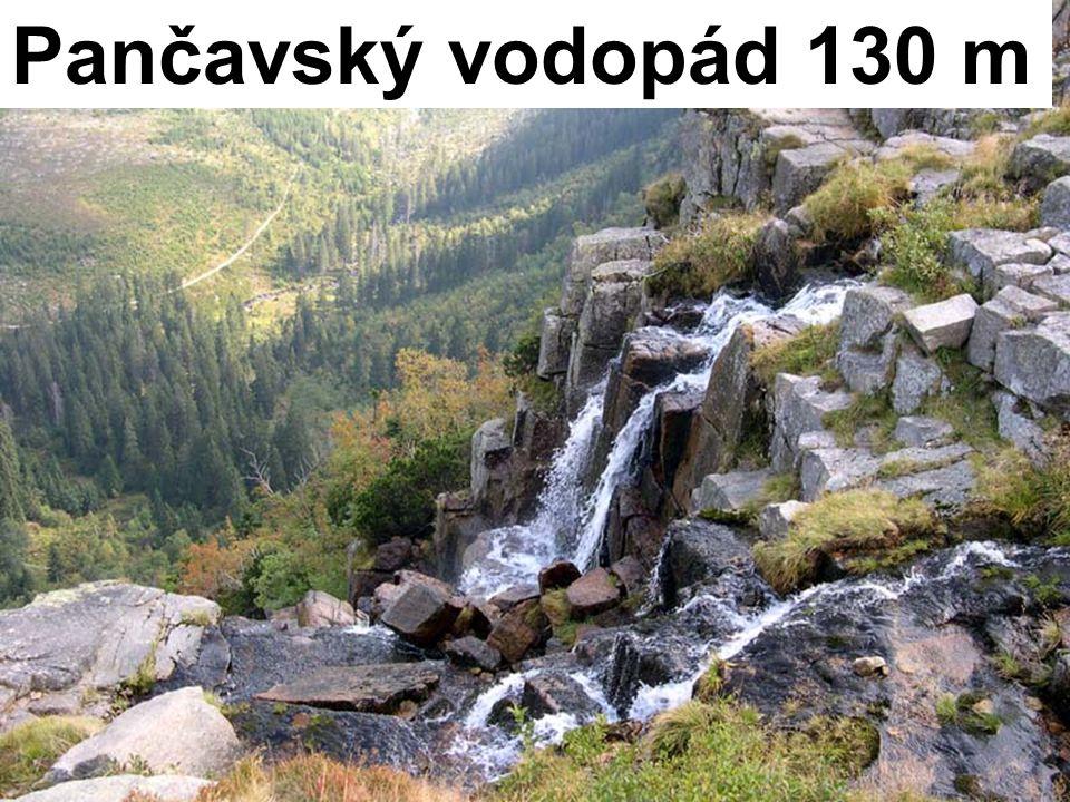 Pančavský vodopád 130 m