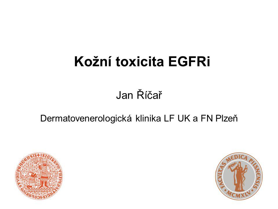 Jan Říčař Dermatovenerologická klinika LF UK a FN Plzeň
