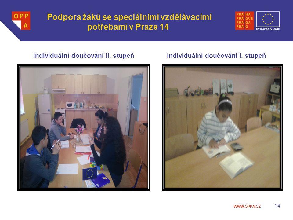 Podpora žáků se speciálnímí vzdělávacími potřebami v Praze 14