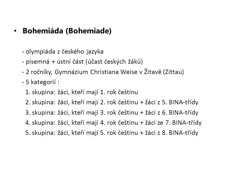 Bohemiáda (Bohemiade)