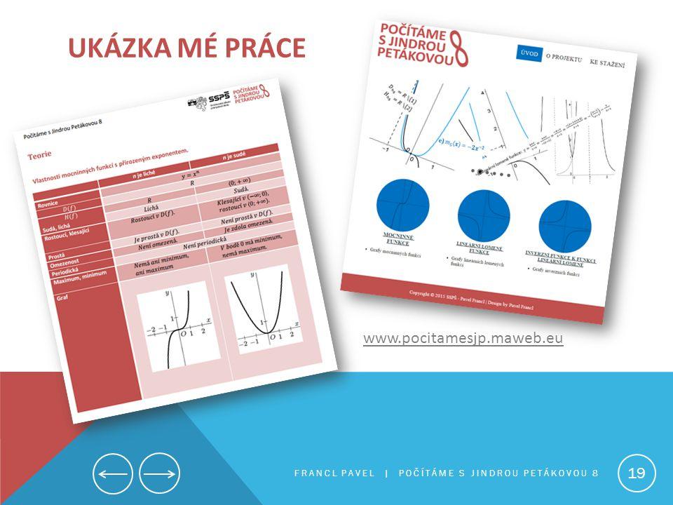Ukázka mé práce www.pocitamesjp.maweb.eu
