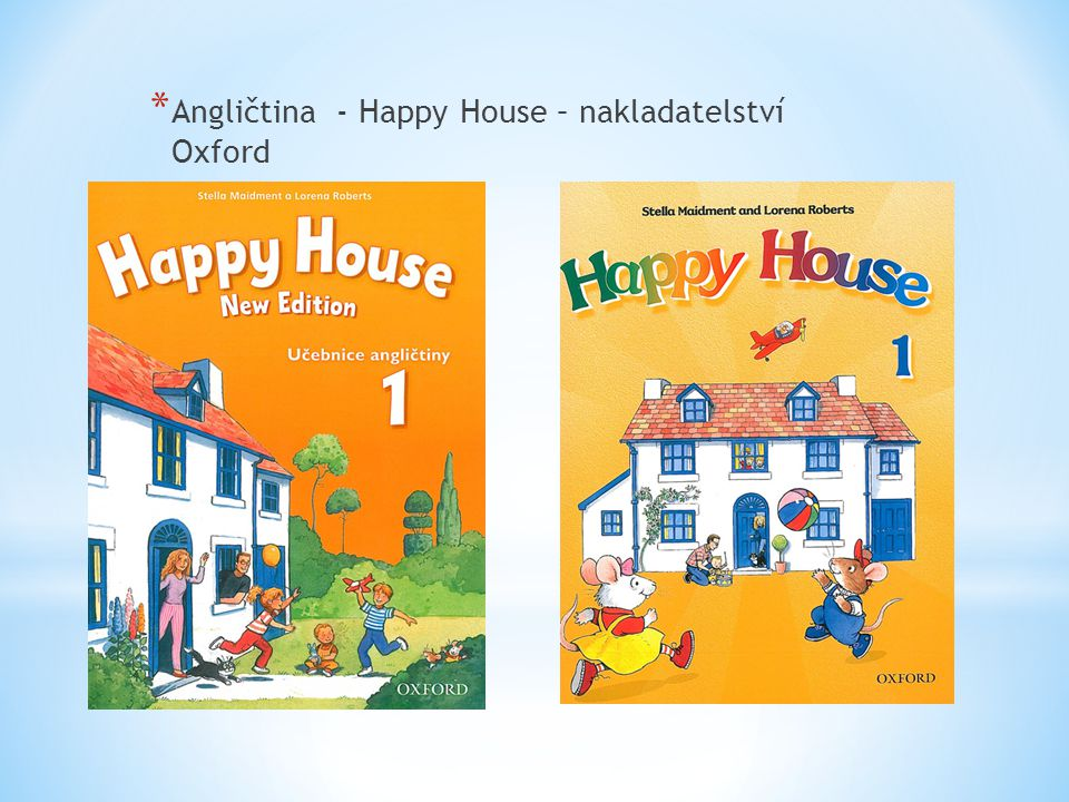Angličtina - Happy House – nakladatelství Oxford