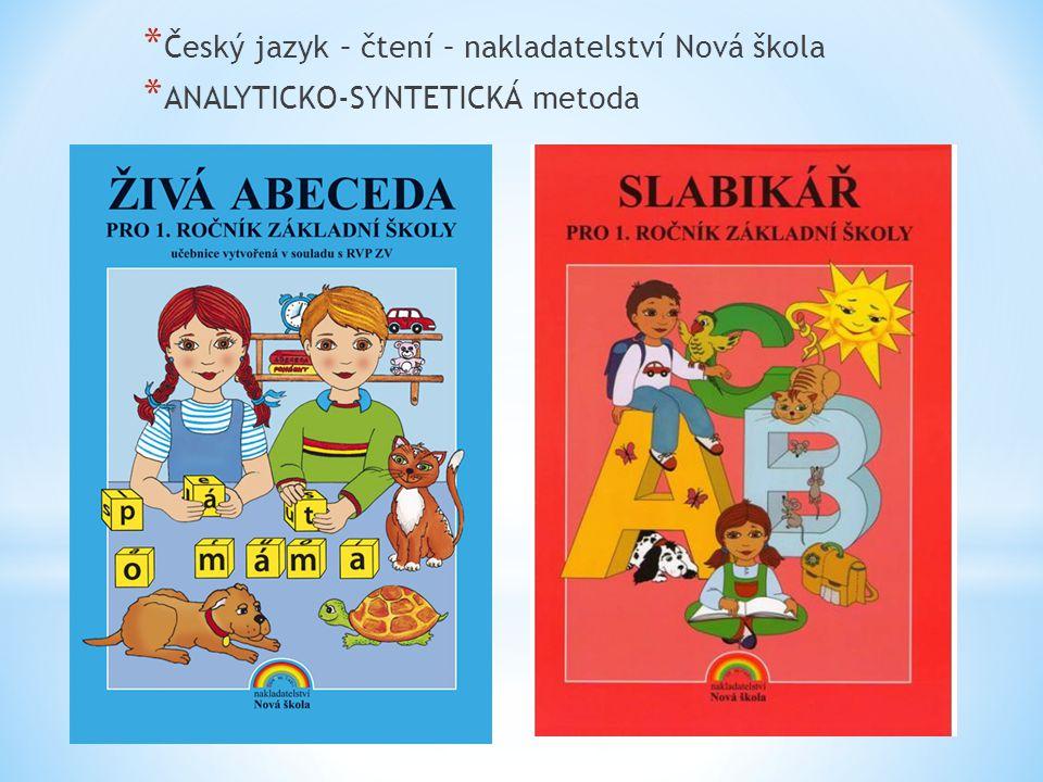 Český jazyk – čtení – nakladatelství Nová škola