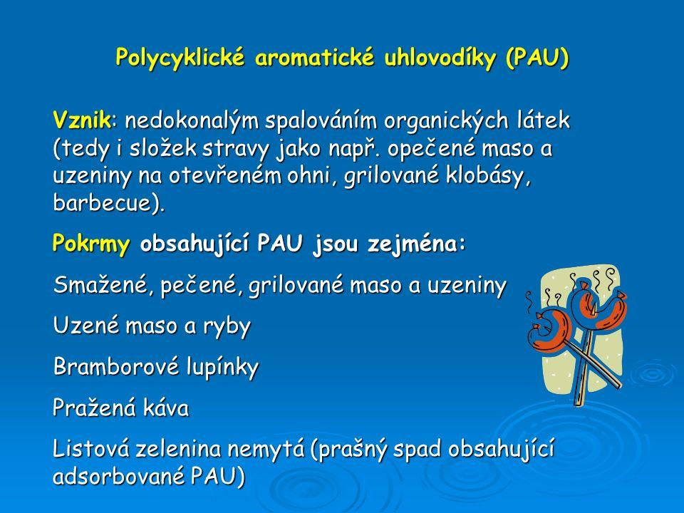 Polycyklické aromatické uhlovodíky (PAU)