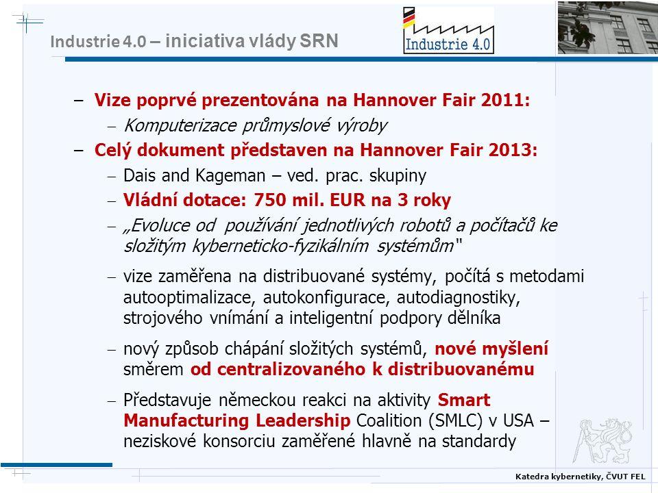 Industrie 4.0 – iniciativa vlády SRN