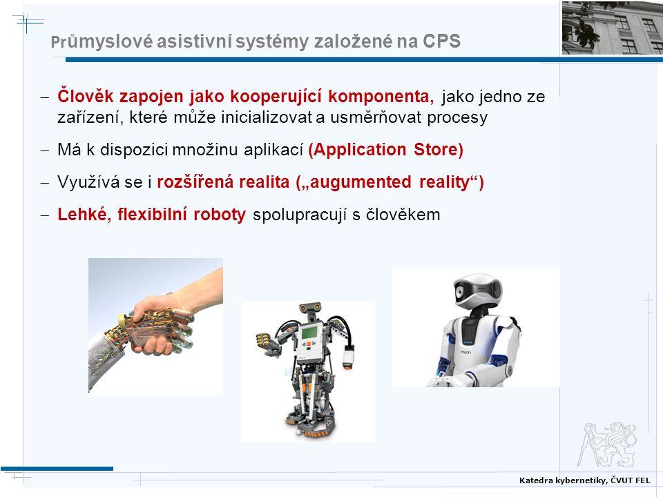 Průmyslové asistivní systémy založené na CPS