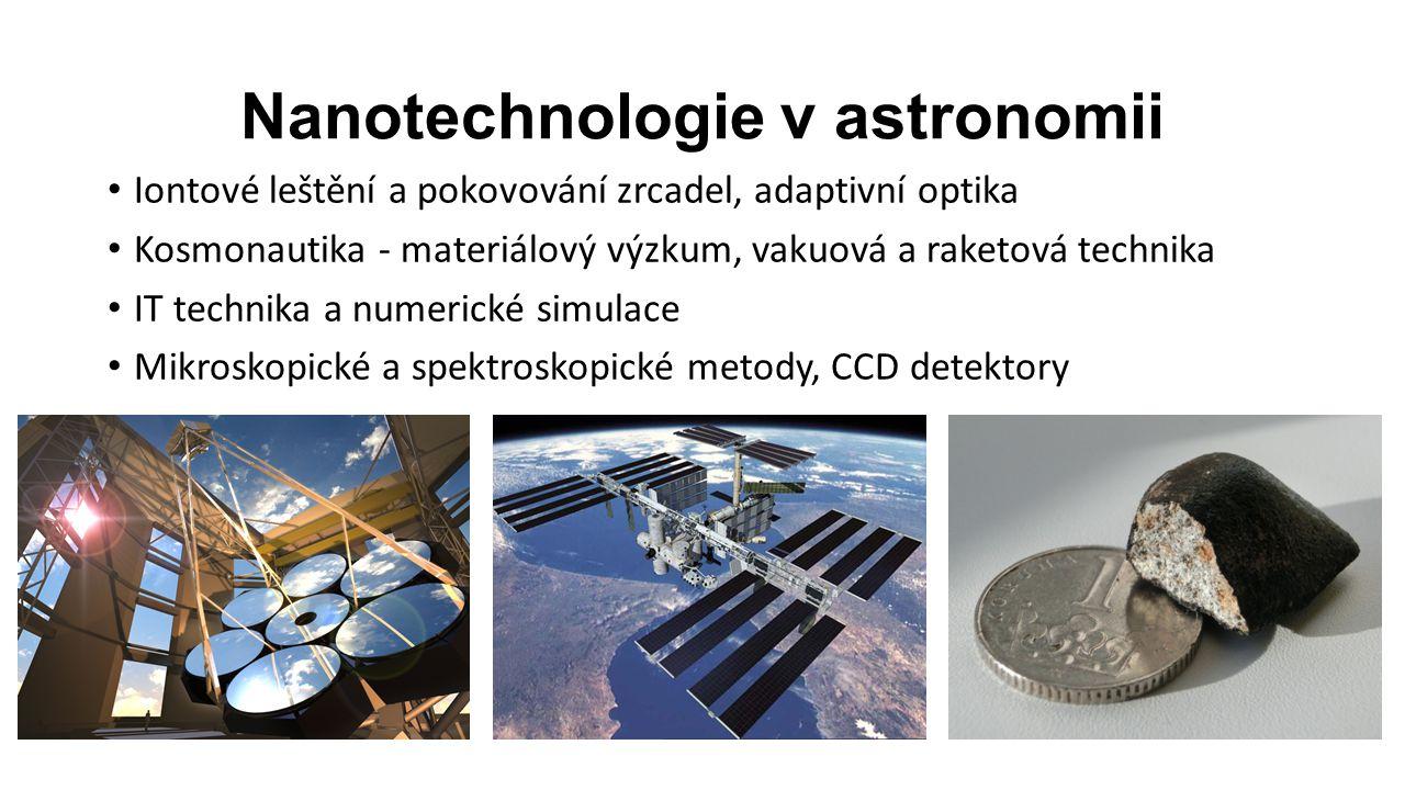 Nanotechnologie v astronomii