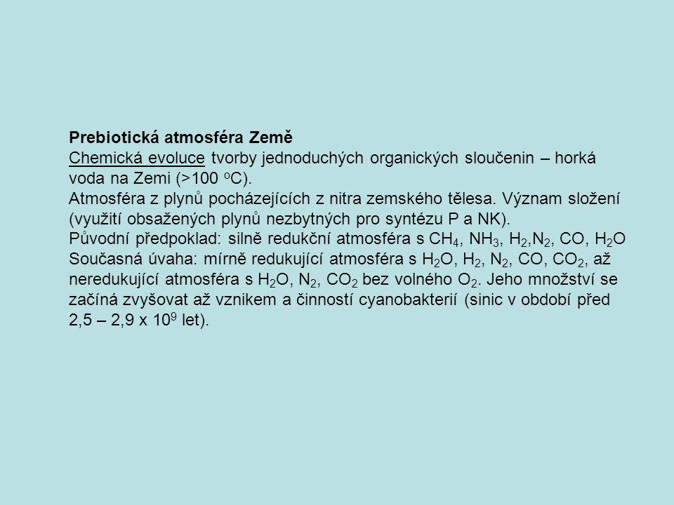 Prebiotická atmosféra Země