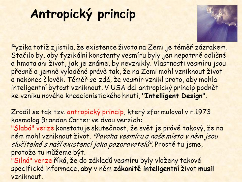 Antropický princip