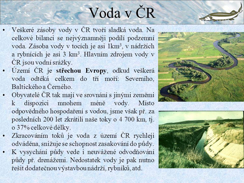 Voda v ČR