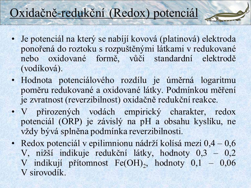 Oxidačně-redukční (Redox) potenciál