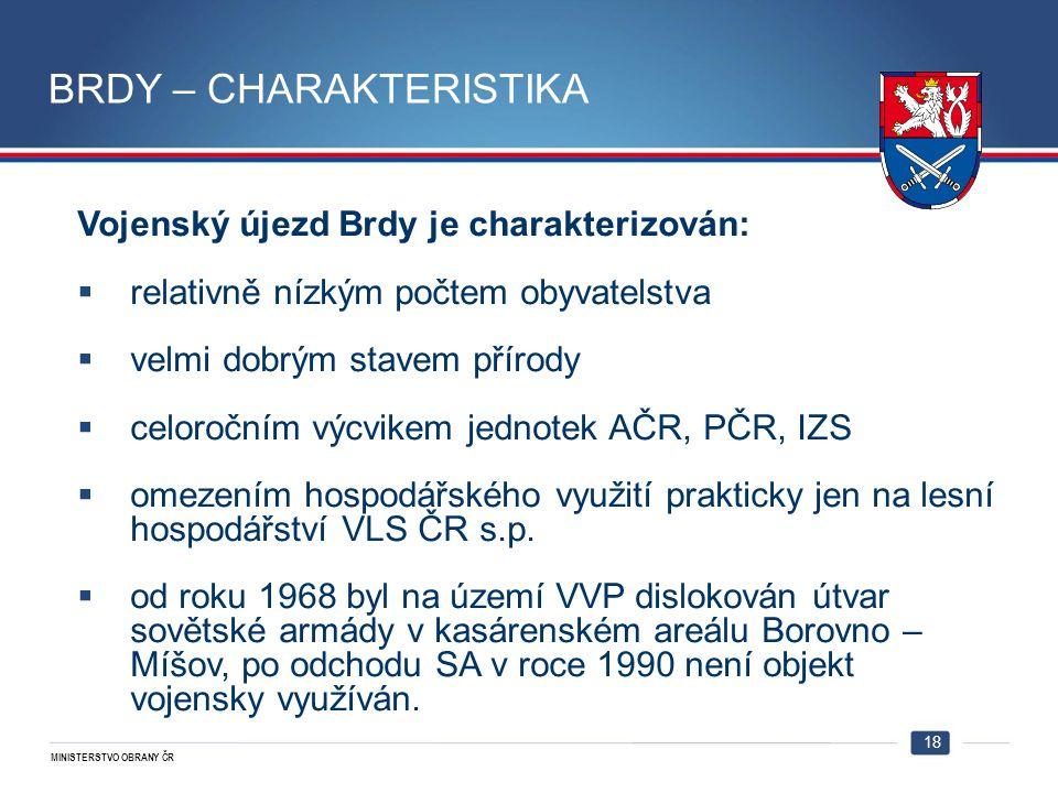 BRDY – CHARAKTERISTIKA