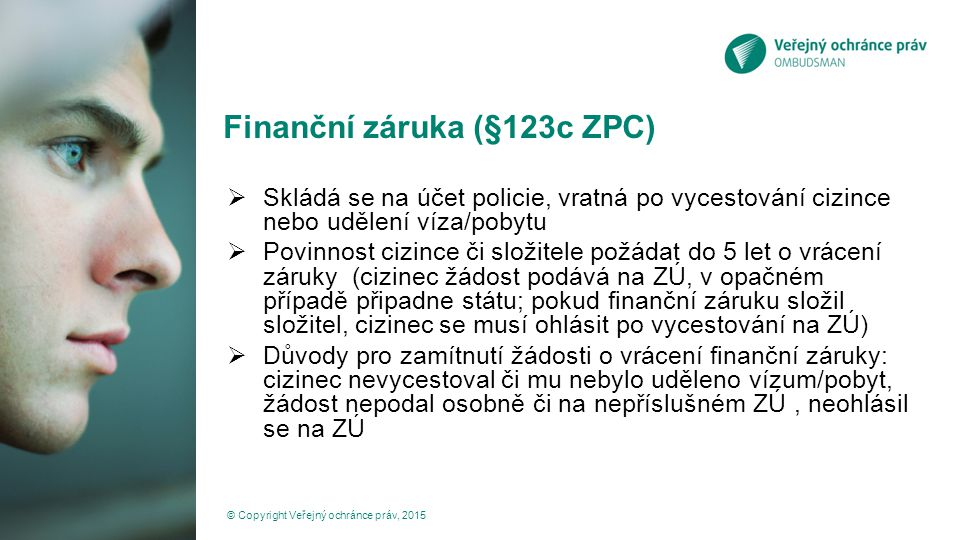 Finanční záruka (§123c ZPC)