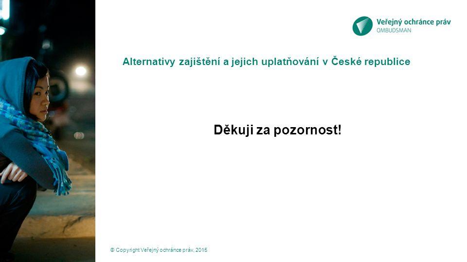 Alternativy zajištění a jejich uplatňování v České republice
