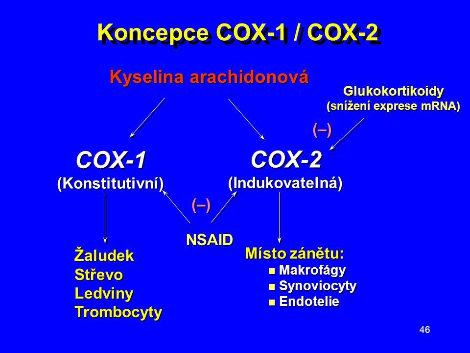 (snížení exprese mRNA)