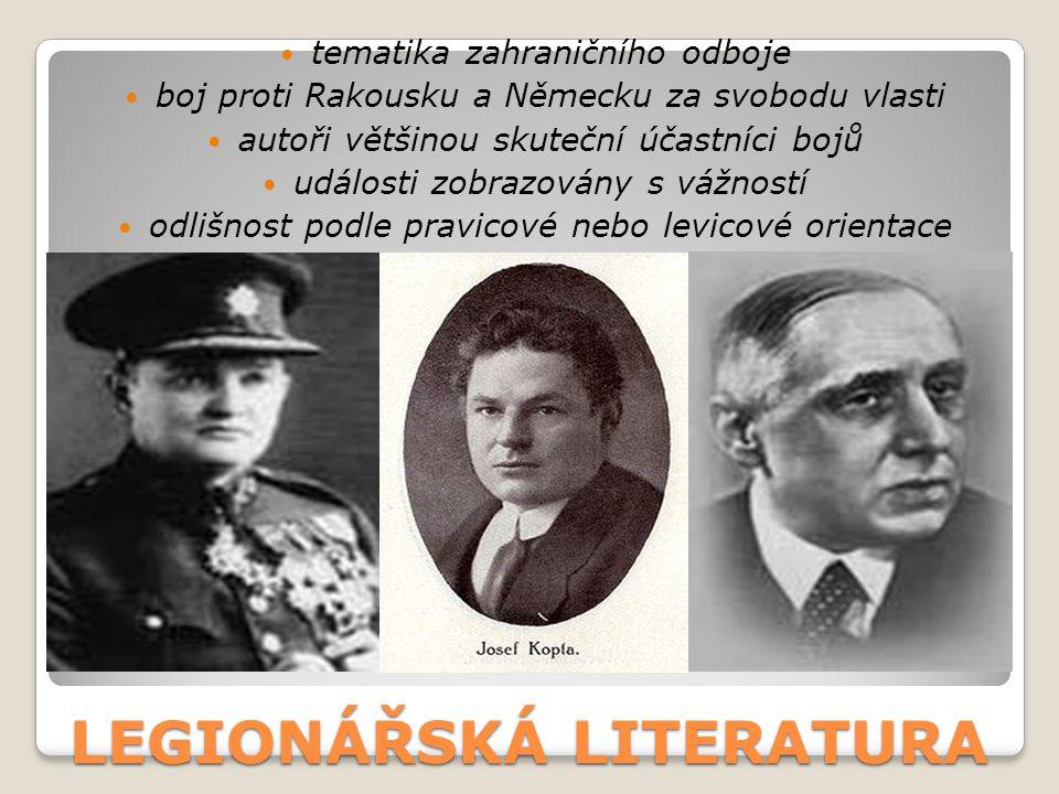 LEGIONÁŘSKÁ LITERATURA