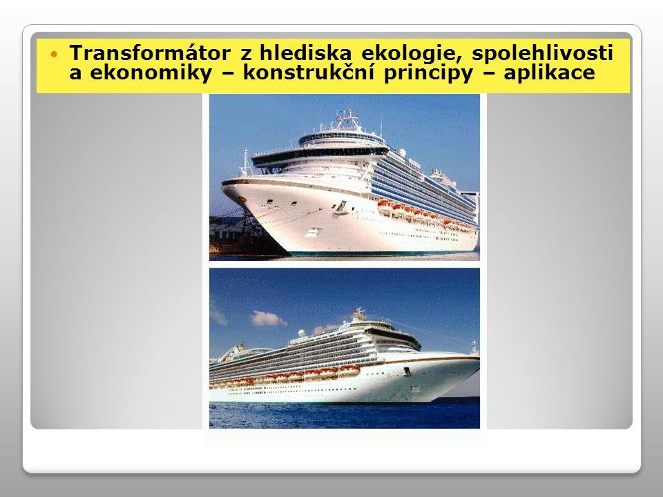 Transformátor z hlediska ekologie, spolehlivosti a ekonomiky – konstrukční principy – aplikace