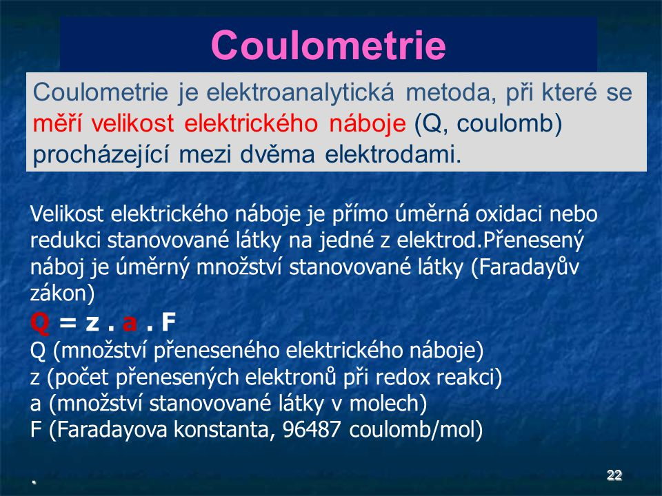 Coulometrie