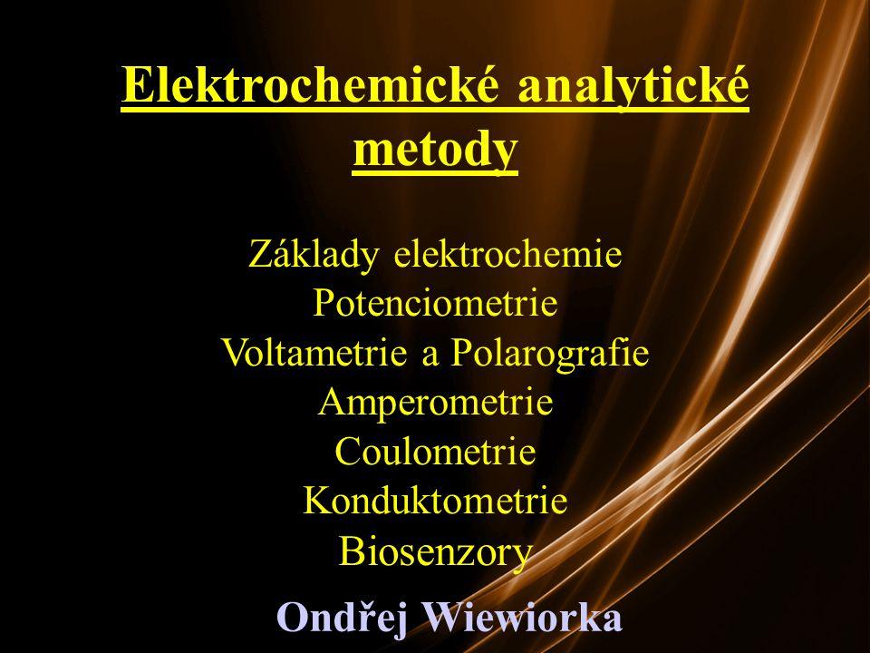 Elektrochemické analytické metody
