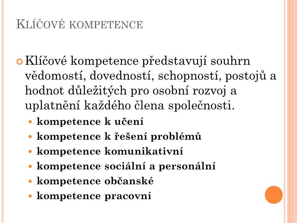 Klíčové kompetence