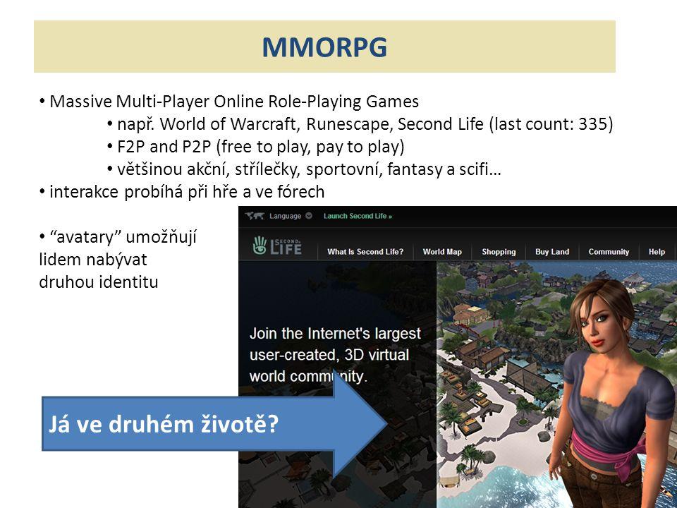 MMORPG Já ve druhém životě