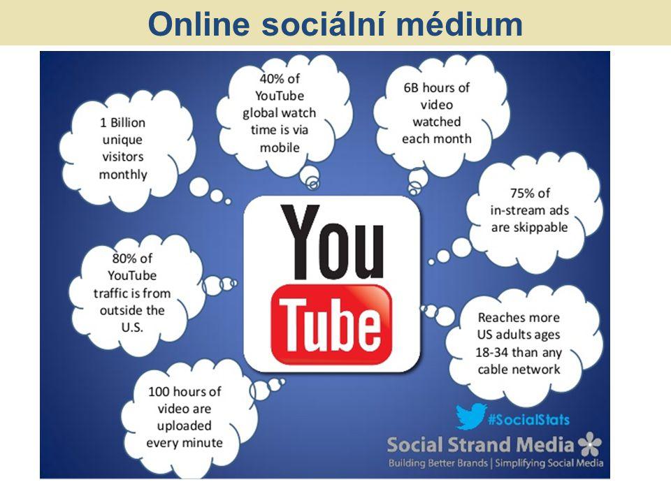 Online sociální médium